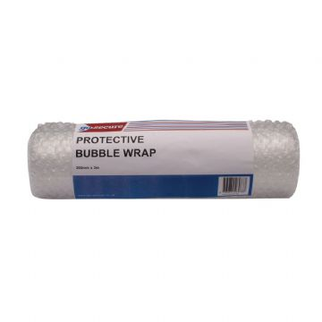 GoSecure Bubble Wrap Roll Small 300mmx3m / Pack of 16